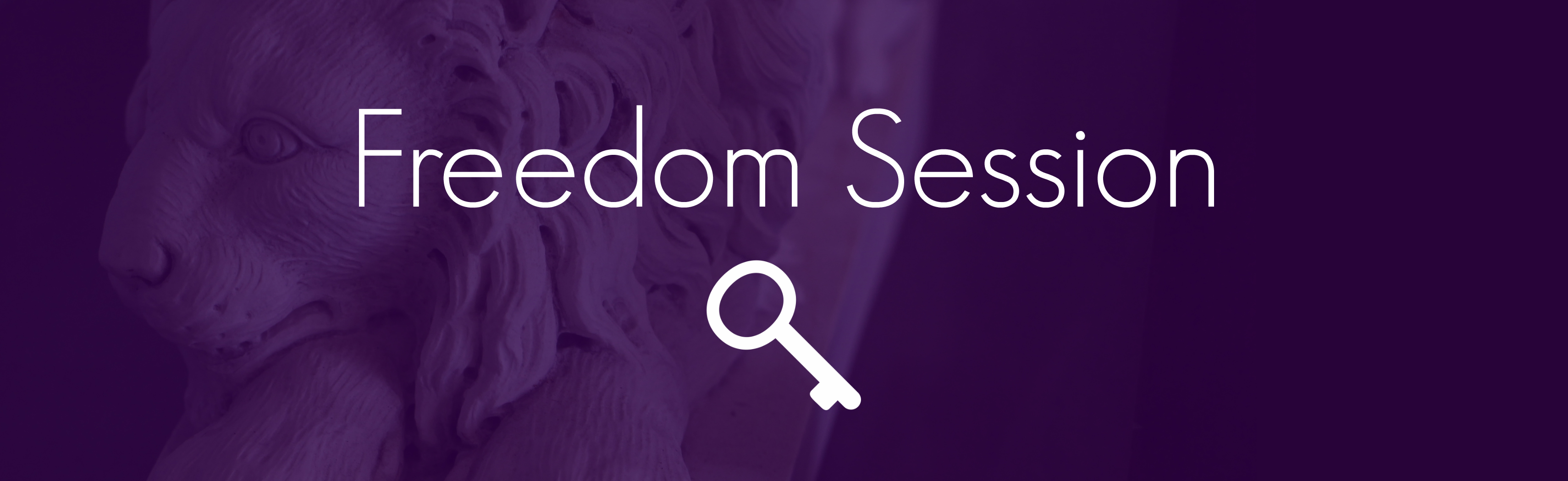 Freedom Sessions Banner
