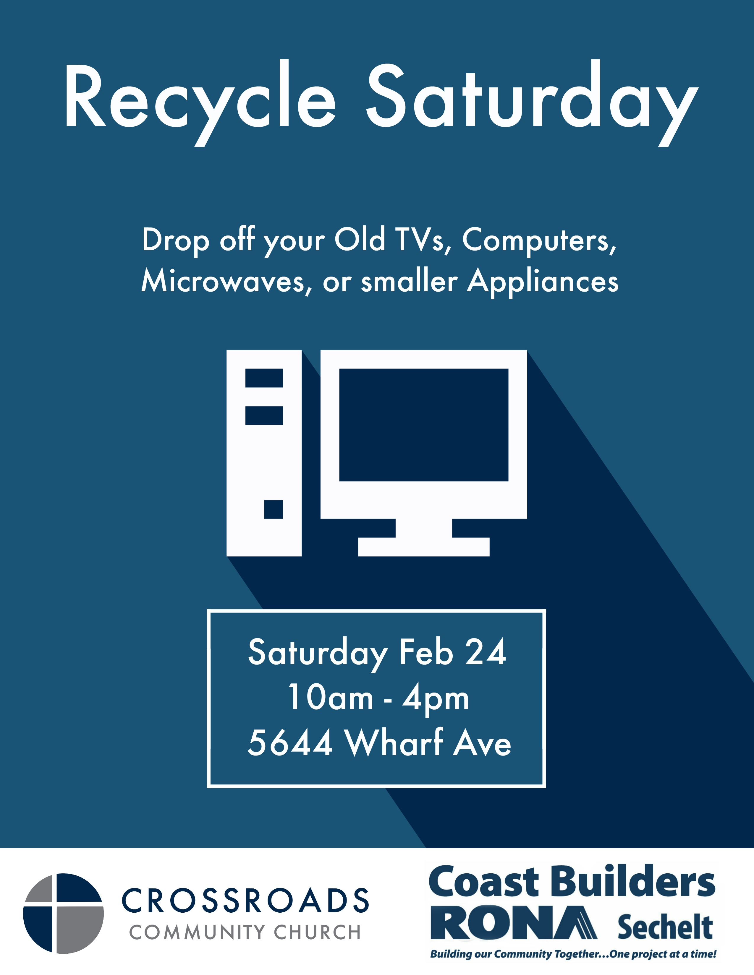 Recycle Saturday Poster OFFICIAL
