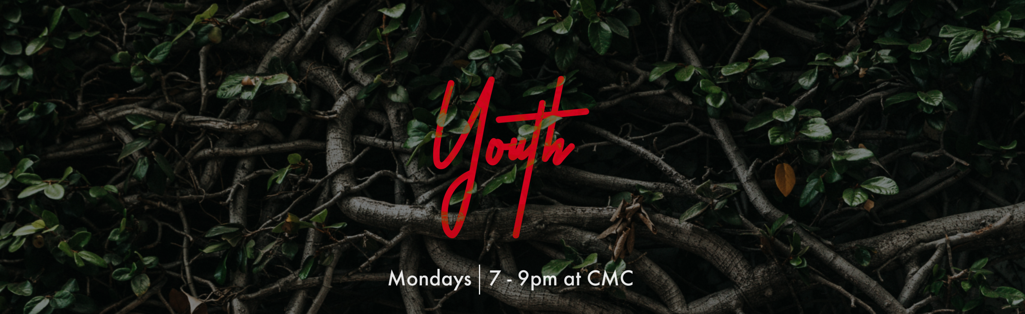 Youth Ministry Website Banner